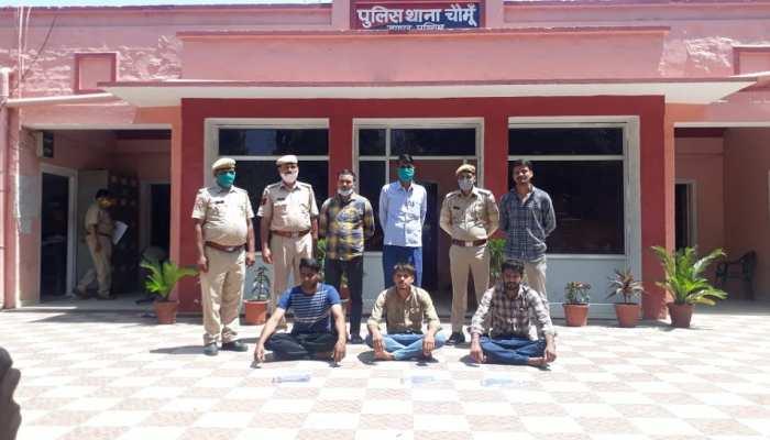 Well Done Jaipur Police, हत्या करने से पहले पकड़े गये वांटेड शूटर्स