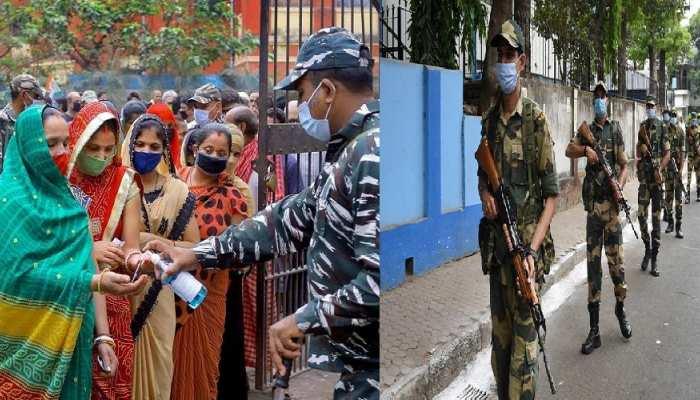 West Bengal Election: कोरोना के बीच निडर होकर मतदाताओं ने मनाया लोकतंत्र का उत्सव, हुई बम्पर वोटिंग