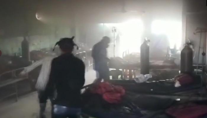 रायपुर के कोविड अस्पताल में लगी आग, पांच कोरोना मरीजों की मौत