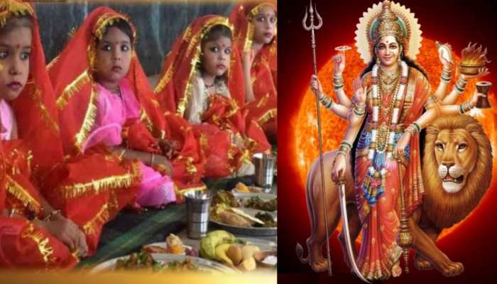 why is kanya pujan done on ashtami during navratri importance and other details