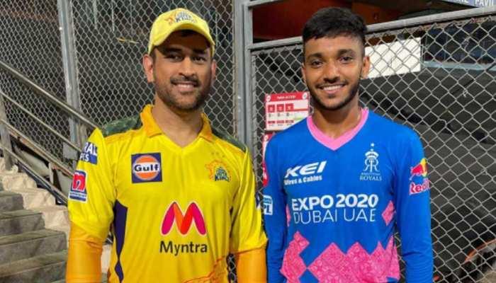 IPL 2021: MS Dhoni को आउट करने के बाद Chetan Sakariya बोले, 'माही को तब से पसंद करता हूं जब मैं बच्चा था