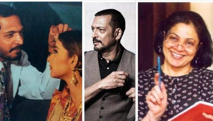 nana patekar had extra marital affairs with manisha koirala and ayesha jhulka but wife never left him