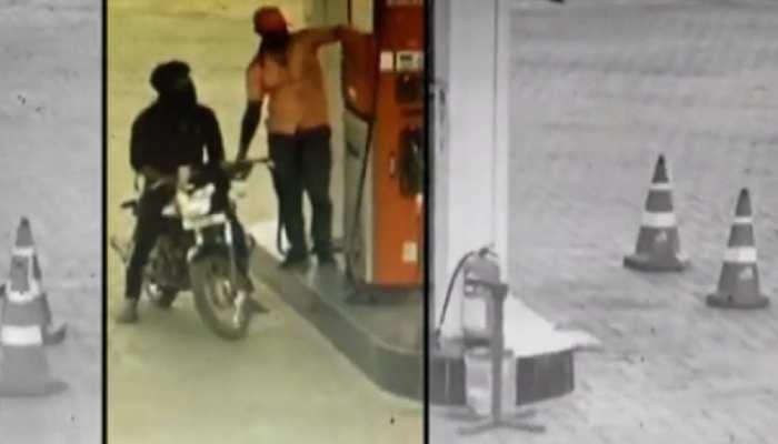 Pratapgarh : पेट्रोल पंप कर्मियों से लूट, पहले भरवाया पेट्रोल, फिर रूपए छीनकर फरार