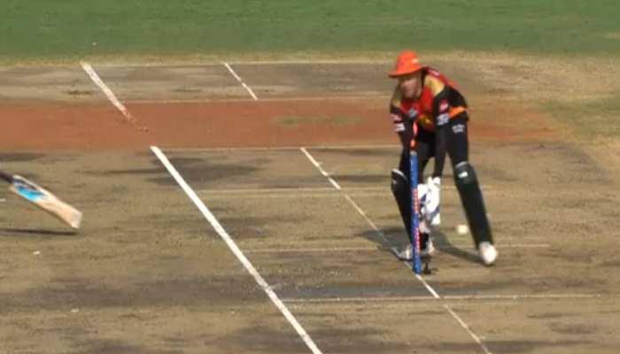 IPL 2021: David Warner का बेहतरीन थ्रो, आउट हो गया Preity Zinta का 4 करोड़ का बल्लेबाज
