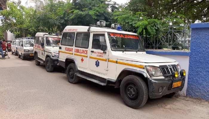 पटना में एम्बुलेंस ड्राइवर के पास नहीं हैं ऑक्सीजन सिलेंडर, भगवान भरोसे मरीज