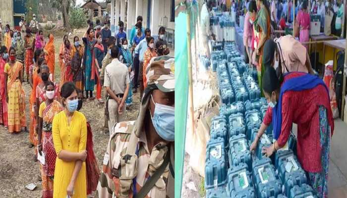 West Bengal Election: छठे चरण का मतदान खत्म, बेकाबू कोरोना के बीच बंपर वोटिंग