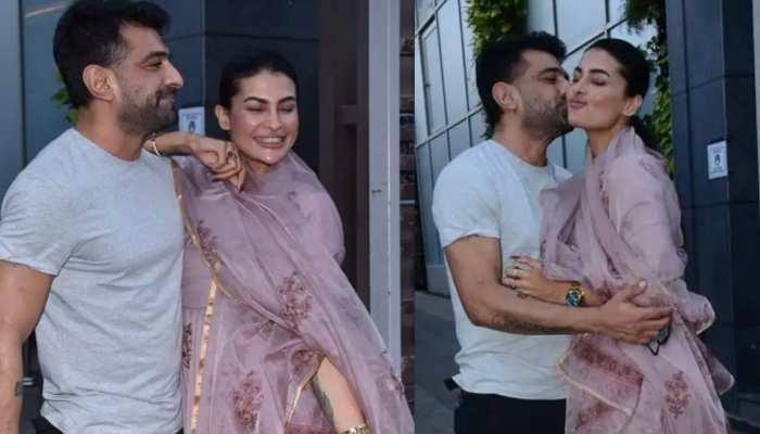 Pavitra Punia के बर्थडे पर Eijaz Khan ने दिया खास तोहफा, सबके सामने करने लगे किस