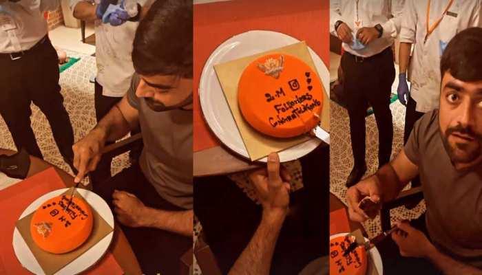 IPL 2021: Instagram पर Rashid Khan के हुए 2 Million Followers, SRH टीम के साथ यूं किया Celebrate