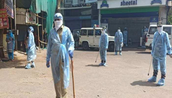 बिहार में कोरोना ने बरपाया कहर, पुलिस प्रशासन ने चार वार्ड को किया सील