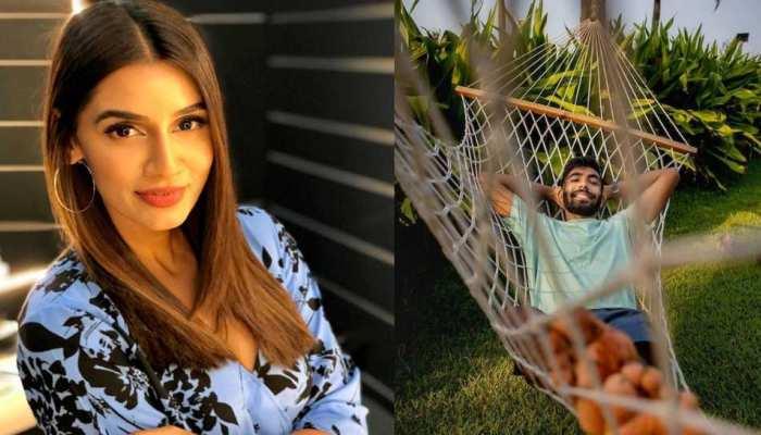 IPL 2021: Stylish Look में नजर आईं Sanjana Ganesan, पति Jasprit Bumrah ने किया रोमांटिक कमेंट