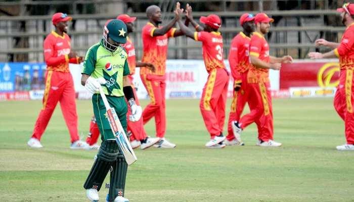 जिम्बाब्वे ने दूसरे टी20 में पाकिस्तान की शर्मनाक हार, 100 रन का आंकड़ा भी नहीं  कर पाया पार