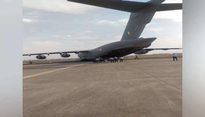 MP में लगातार प्राणवायु लाने में जुटी वायु सेना, इन 5 जगहों पर लग रहे नए प्लांट