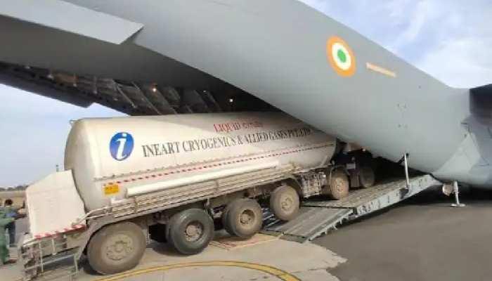 कोरोना के खिलाफ जंग: मध्य प्रदेश में कब-कब ऑक्सीजन टैंकर लेकर आएगी वायुसेना, यहां देखें पूरी लिस्ट