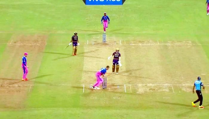 IPL 2021, KKR vs RR: बेहद फनी तरीके से रन आउट हुए Eoin Morgan, Video देख नहीं रुकेगी हंसी