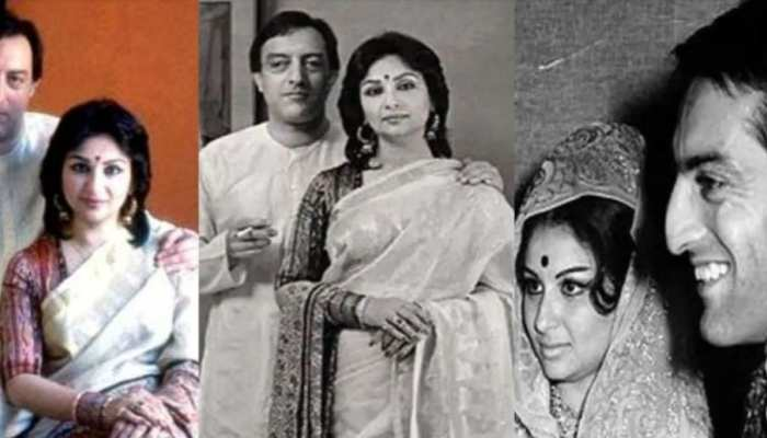 Mansoor Ali Khan Pataudi broke up with Simi Garewal to marry Sharmila Tagore see unseen photos