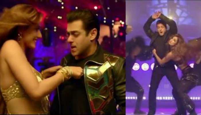 Seeti Maar Out Now: Salman Khan ने मारी ऐसी सीटी, Disha Patani ने लगा लिया गले