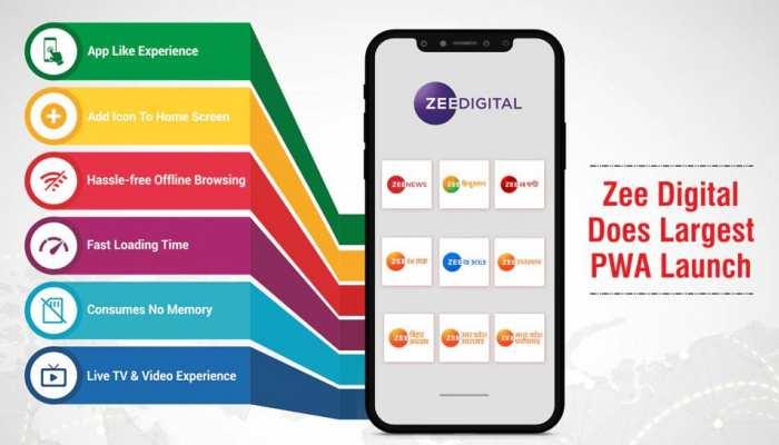 Zee Digital ने लॉन्च किया प्रोग्रेसिव वेब ऐप, मोबाइल यूजर्स को मिलेंगे ये फायदे