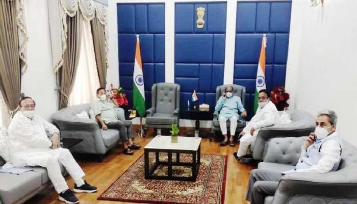 केंद्रीय मंत्रियों से मिले राजस्थान के 3 मंत्री, Oxygen-Remdesivir को कोटा बढ़ाने की मांग की