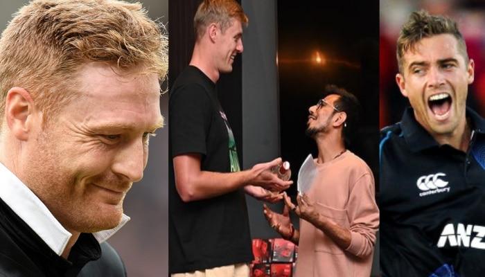 IPL 2021: Kyle Jamieson को गुप्टिल की तरह गालियां न सिखा दें Yuzvendra Chahal, Tim Southee ने लिए चहल के मजे