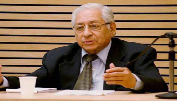 Former Attorney General Soli Sorabjee का Corona के कारण निधन, 91 साल की उम्र में ली आखिरी सांस