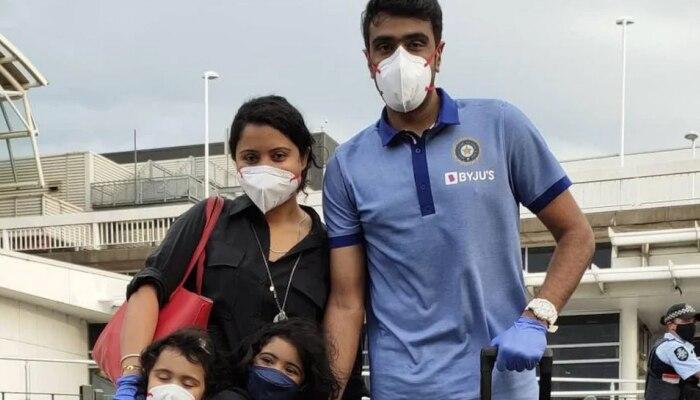 Ravichandran Ashwin के परिवार में 10 लोग कोरोना पॉजिटिव, पत्नी Prithi Narayanan ने बताए हालात