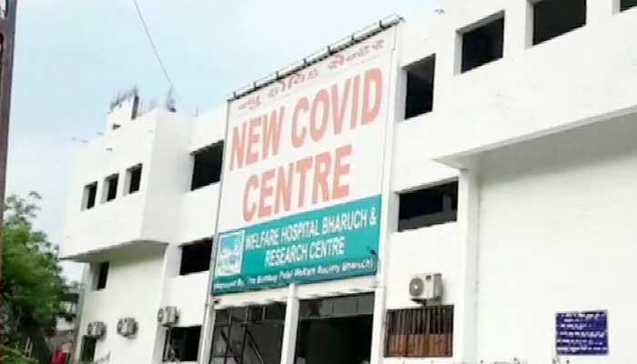गुजरात: कोरोना अस्पताल में आग लगने से 18 मरीजों की मौत