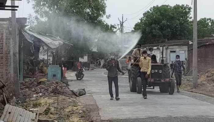 कोरोना से मुक्ति के लिए गांव में हुई भविष्यवाणी, फिर ग्रामीणों ने किया ये काम