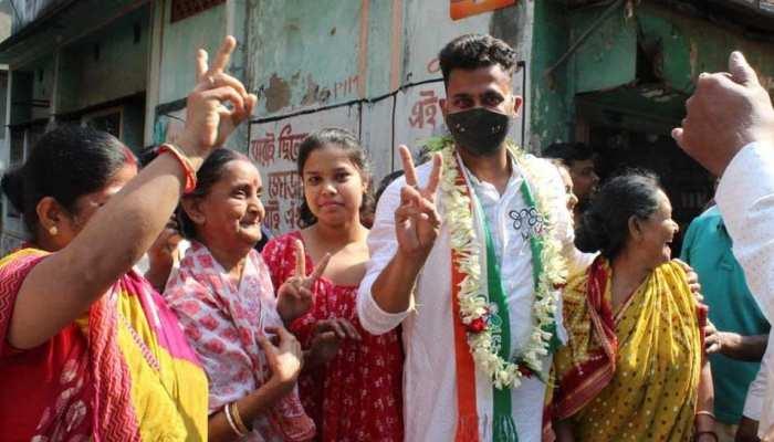 Cricket के बाद राजनीति की Pitch पर चमके Manoj Tiwary, TMC के टिकट पर Shibpur से जीता Bengal Assembly Election