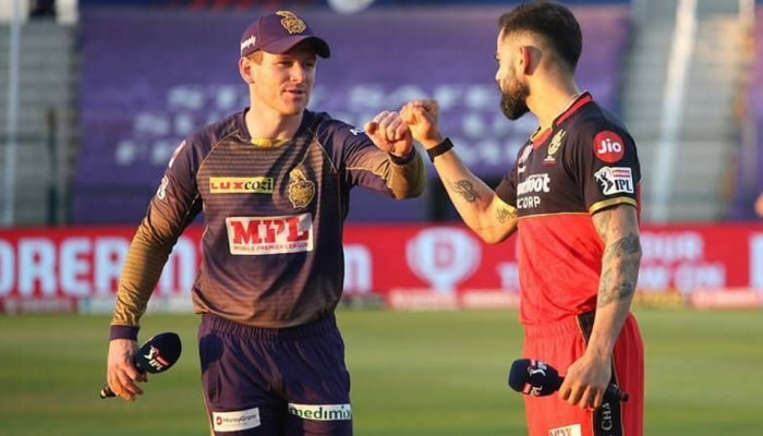 कोरोना इफेक्ट: दो खिलाड़ी कोविड पॉजिटिव, टाला गया KKR और RCB का IPL मैच