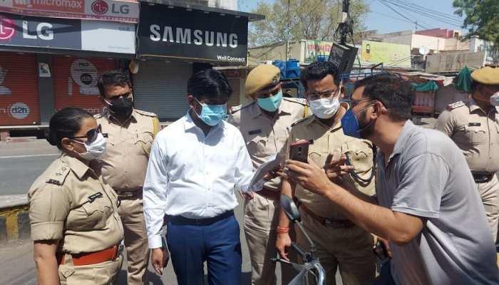 Bhilwara : बेवजह सड़क पर घूमते 6 लोगों को किया क्वारंटीन, बनाए कईयों के चालान