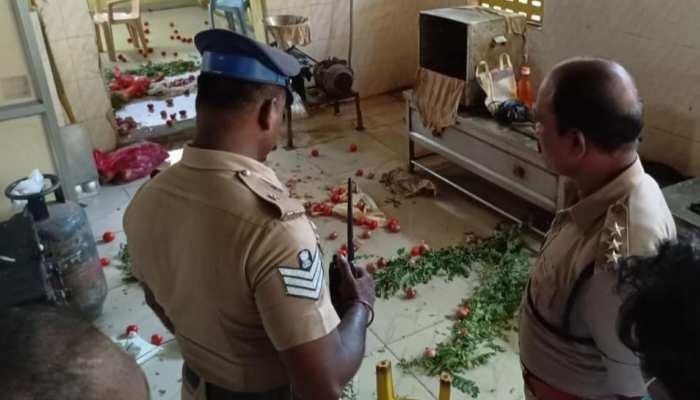 aiadmk shares video alleging dmk cadre vandalizing amma canteen, chennai news political violence tamilnadu