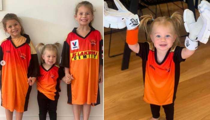 IPL 2021 सस्पेंड होने के बाद David Warner की नन्ही बेटियों ने लिखा इमोशनल मैसेज, कहा-'पापा जल्दी आ जाना'
