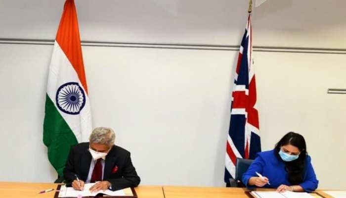 Roadmap 2030 for India-UK future relations launched during India-UK Virtual  Summit | भारत, ब्रिटेन ने संबंधों में 'व्यापक रणनीतिक साझेदारी' के लिए  'रोडमैप 2030' को मंजूरी दी | Hindi News ...