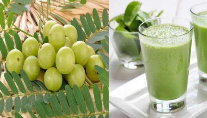 amla and moringa sahjan drink that acts as immunity booster during coronavirus pandemic