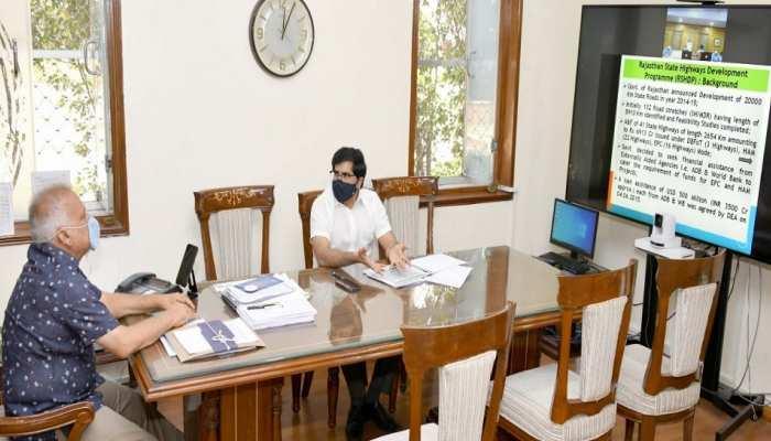 राजस्थान में सड़क परियोजनाओं को समय पर पूरा करें अधिकारी: मुख्य सचिव