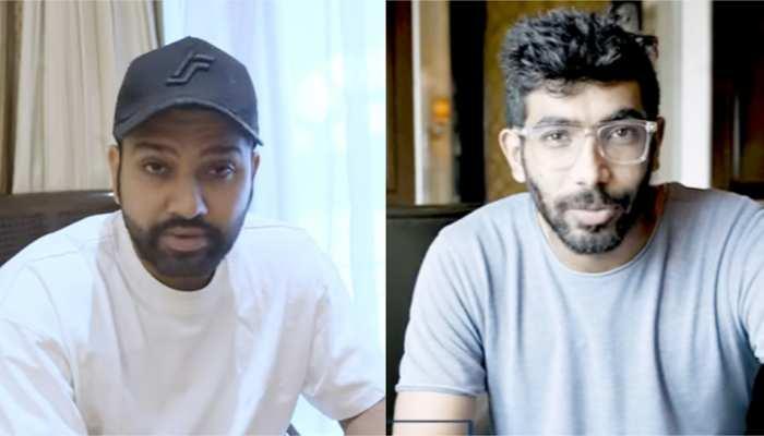 Video: IPL टलने से मायूस हुए क्रिकेटर्स, Rohit sharma और Jasprit Bumrah ने दिया ये इमोशनल रिएक्शन