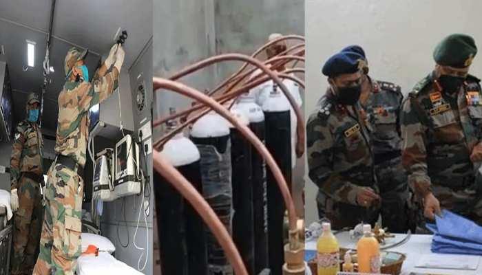 कोरोना कहर के बीच बिहार की मदद करेगी सेना, पूर्वोत्तर से दो अस्पतालों के साजों-सामान को पटना भेजा