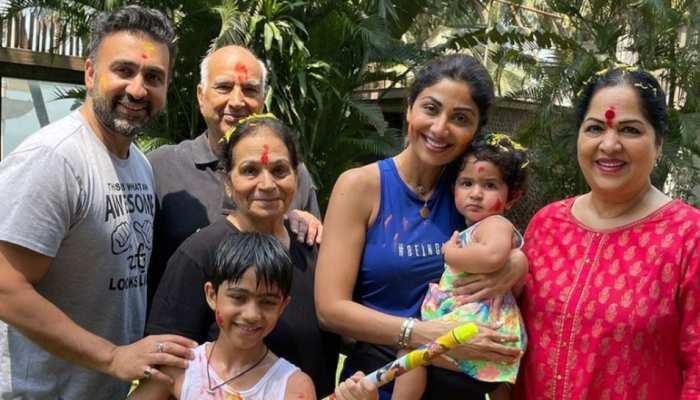 Shilpa Shetty का पूरा परिवार कोरोना की चपेट में, एक्ट्रेस की रिपोर्ट नेगेटिव