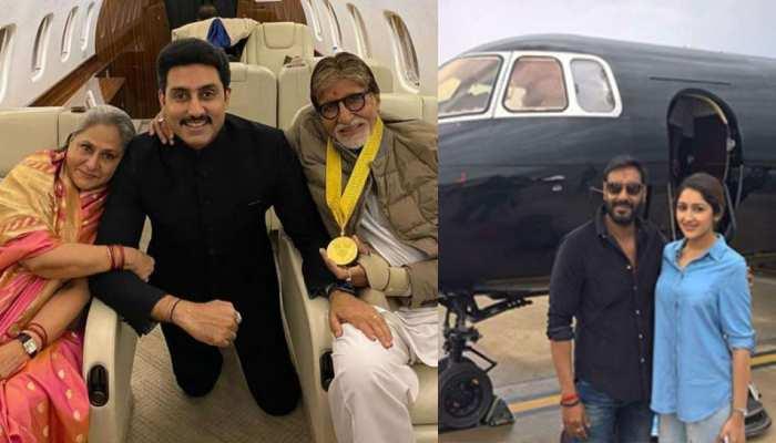 Private Jet stories of Bollywood actors Amitabh Bachchan, Priyanka chopra, shilpa shetty