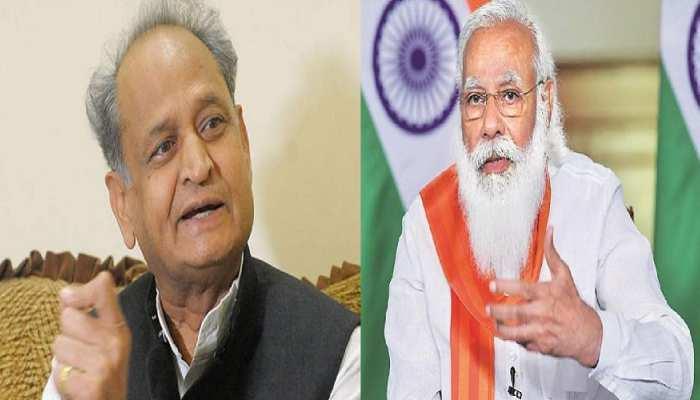 राजस्थान में कोरोना बेकाबू, CM गहलोत ने मोदी सरकार से की कई मांगें
