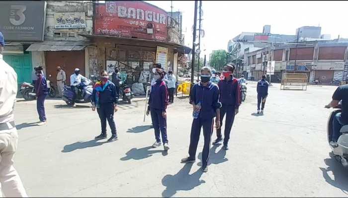 बेवजह सड़कों पर घूम रहे लोगों की अब खैर नहीं, रतलाम में हुई सुपर 100 गर्ल्स की तैनाती!