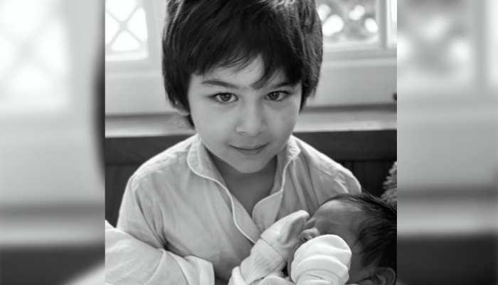 छोटे भाई को गोद में लिए दिखे Taimur Ali Khan, मां Kareena Kapoor Khan ने लिखी इमोशनल पोस्ट