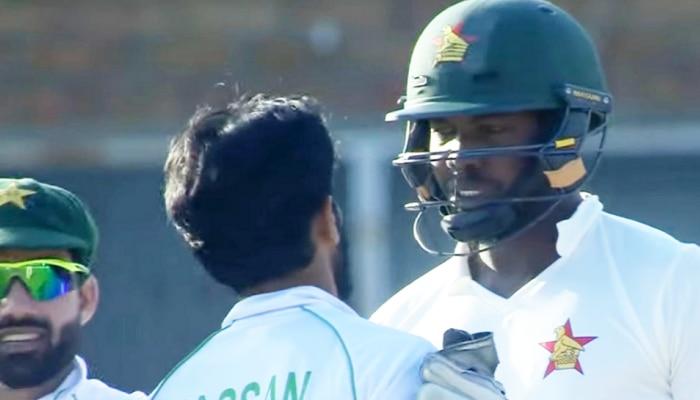 Video: PAK गेंदबाज Hasan Ali ने बीच मैदान पर बल्लेबाज के साथ की बदतमीजी, अंपायर ने किया बीच-बचाव