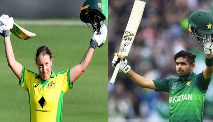 Babar Azam और Alyssa Healy ने मारी बाजी, जीता ICC का ये बड़ा खिताब