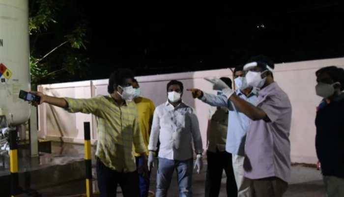 आंध्र प्रदेश: सरकारी अस्पताल में ऑक्सीजन सप्लाई में हुई सिर्फ 5 मिनट की देरी, चली गई 11 मरीजों की जान