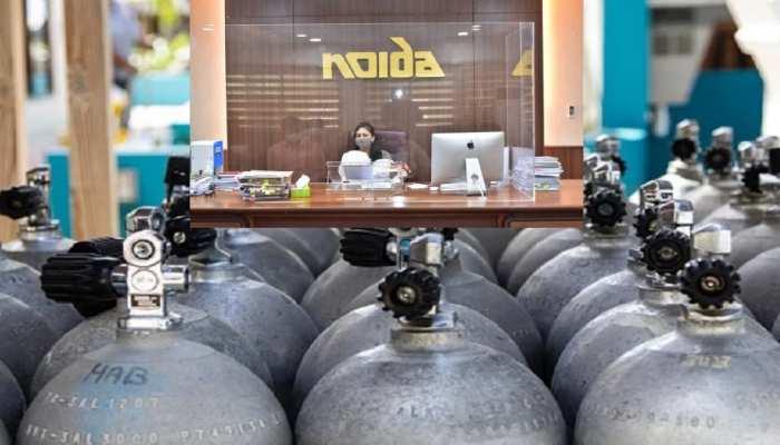 नोएडा प्राधिकरण की बड़ी पहल, घर पर मरीजों को ऑक्सीजन सिलेंडर भी देगी अथॉरिटी, ये दस्तावेज जरूरी