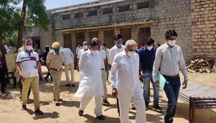 Jalore : अस्थाई कोविड सेंटर में तब्दील हुआ सरकारी स्कूल, मरीजों को इलाज में मिलेगी राहत