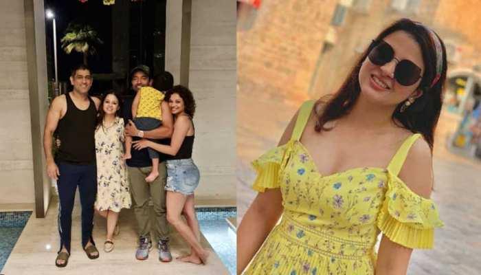 Robin Uthappa की पत्नी ने पोस्ट की Throwback तस्वीर, Sakshi Dhoni ने दिया Cute सा जवाब