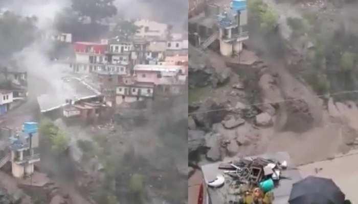 Uttarakhand में बादल फटने से तबाही, दो बिल्डिंग जमींदोज; मलबे से पटा इलाका
