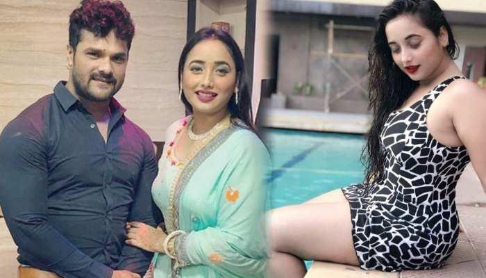 Khesari Lal Yadav की हीरोइन Rani Chatterjee ने लूटा UP-बिहार, होठलाली लगाकर स्विमिंग पूल में लगाई आग